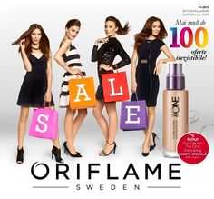 Oriflame Beauty News ianuarie 2015