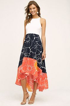 great dress. I like the colors and cut #anthropologie