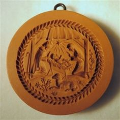 Christmas Creche-Nativity Of 2012 Springerle Cookie Mold