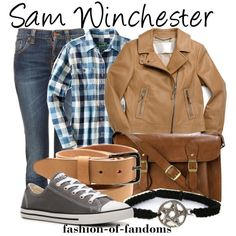 """Sam Winchester"" by fofandoms on Polyvore"