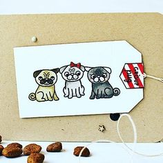 It's release day at Sweet Stamp Shop today! Never thought I could fall in love with a Pug but have done so by proxy with  Pug Life!! Check it out Along with the rest of the release @sweetstampshop!