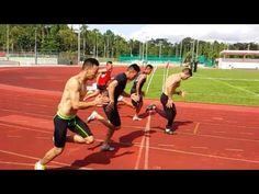 3-Speed Training Drills | Sprinting - YouTube