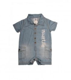 A denim button-up romper with Naartjie print and pockets. Boy Outfits, Fashion Outfits, Rompers For Kids, Boy Clothing, Denim Button Up, Kids Shop, Christian, Pockets, Boys
