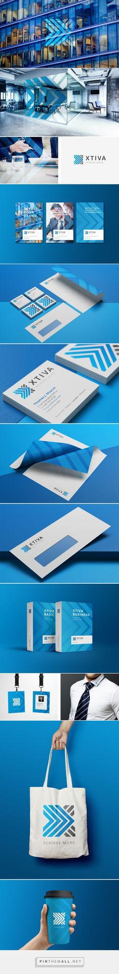 xtiva — corporate design by simon spring