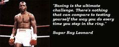 sugar ray leonard addictfight Real Steel, Sugar, Boxing, Quotes, Business, Sports, Quotations, Sport, Quote