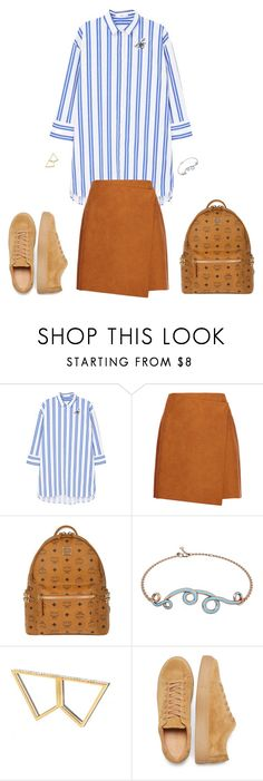 """""""No Word Described"""" by stationary ❤ liked on Polyvore featuring MANGO, MSGM, MCM, 1986 and Sophie Birgitt"""