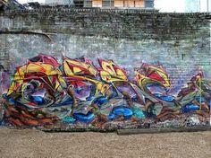Shoreditch graffiti, via Flickr.