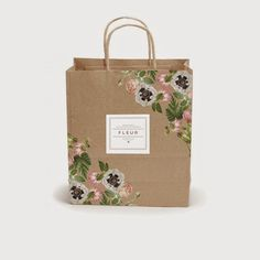 shopping bags - Product Design & Graphic Design (designs/store name) Sacs Design, Box Design, Bag Packaging, Packaging Design, Shopping Bag Design, Paper Shopping Bag, Paper Bag Design, Kraft Bag, Grafik Design