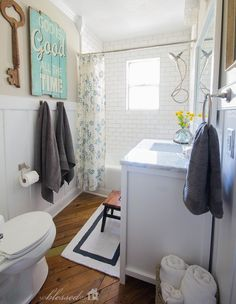 Lovely ideas for the home on pinterest shelves good for Good housekeeping bathroom ideas