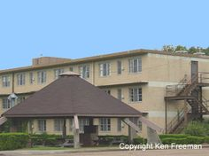 Base housing, at the former England Air Force  Base, Alexandria, Louisiana...now England Airpark