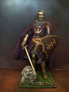 "12"" CUSTOM LEGENDARY KING ARTHUR, KNIGHTS OF THE ROUND TABLE 1/6 FIGURE IGNITE"