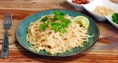Easy Homemade Pad Thai: andlt  (added note: if making to be gluten-free, check soy sauce to make sure it doesn't contain wheat)
