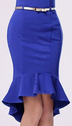 minus the peplum. the stitching of the skirt for the print cloth