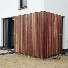 Wooden Facade, House Cladding, Interior Architecture, House Design, Patio, Building, Villa, Life, Environment
