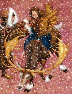 çizgili masallar: The Snow Queen by Vladislav Erko
