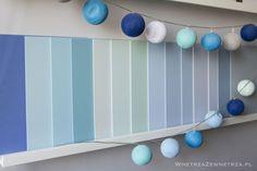 Wnętrza Zewnętrza: Niebieskie ściany - jaki kolor farby wybrać?