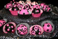 Girly Cake Balls