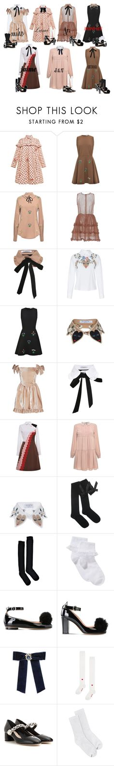 """Amore - Always"" by mikki102 ❤ liked on Polyvore featuring VIVETTA, Boohoo, John Lewis, Boutique Moschino, Cara, Miu Miu, Hanes and Falke"