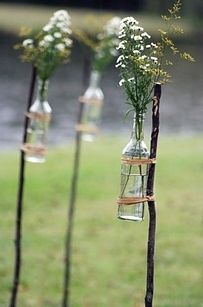 Wedding Details: Rustic Flowers Salvage Savvy: Weekly [P]inspiration: Outdoor Entertaining DIY Ideas The post Wedding Details: Rustic Flowers appeared first on Diy Flowers. Wedding Blog, Diy Wedding, Rustic Wedding, Dream Wedding, Wedding Day, Wedding Backyard, Wedding Ceremony, Trendy Wedding, Farm Wedding