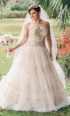 Lazaro LZ3320: buy this dress for a fraction of the salon price on PreOwnedWeddingDresses.com