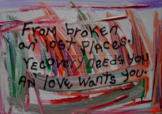 Recovery Needs You And Love Wants You by songsforseba.deviantart.com on @deviantART