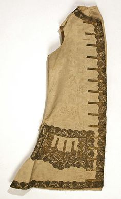 Vest Date: 1710 Culture: American or European Medium: silk Dimensions: [no dimensions available] Credit Line: Gift of Mr. Lee Simonson, 1939 Accession Number: C.I.39.13.145