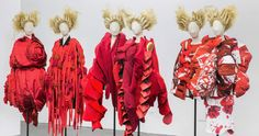 A new exhibition titled Rei Kawakubo/Comme des Garçons: Art of the In-Between features Kawakubo's womenswear for Comme des Garçons dating from the early 1980s to her most recent collection.