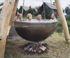 Boiler Pot Hot Tub There is Jacuzzi and jacuzzi . You can also visit our sauna, jacuzzi and steam Outdoor Baths, Outdoor Tub, Outdoor Showers, Outdoor Fire, Outdoor Living, Outdoor Decor, Outdoor Spaces, Garden Cottage, Garden Hoe