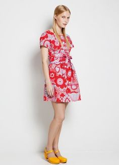 Elegance and freshness !   Neidonkaulus dress by Marimekko