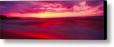 Artistic Sunset, Oahu, Hawaii, Usa Canvas Print / Canvas Art By Panoramic Images