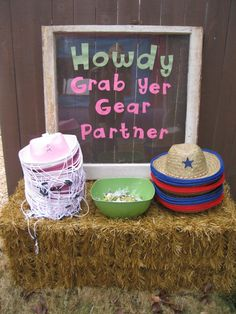 Photo 1 of Western/Country Cowgirl / Birthday Western Cowgirl Country Birthday Party, Rodeo Birthday, Horse Birthday Parties, Cowboy Birthday Party, Farm Birthday, Birthday Party Themes, Farm Party, Birthday Ideas, Third Birthday