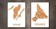 Tromsø og Drammen Tromso, Design, Home Decor, Homemade Home Decor, Interior Design, Design Comics, Home Interiors, Decoration Home