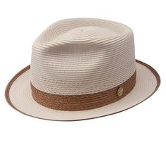Take a look at our Stetson Cool Way - Straw Fedora Hat made by Stetson Dress fb375b96d0e