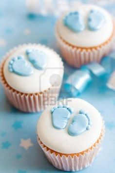 Cupcakes For A Baby Shower...