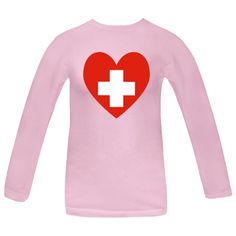 Fun design shows a heart shaped Flag of Switzerland or Swiss Flag. Travelers will love it to help remember a vacation, trip, or holiday. Fun way to honor and show your pride and love in your ethnic heritage, culture and ancestry. Creative teachers may love it as a teaching aid or tool. Great gift for Chirstmas, birthday, and, of course, Valentine's Day. $27.99 ink.flagnation.com