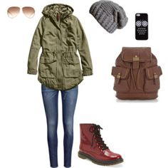 beanies & army styled jackets September Outfits, Army Style, Classy And Fabulous, Beanies, Military Jacket, Camo, Things I Want, Autumn Fashion, Jackets
