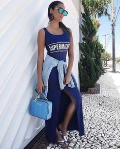 zpr Vestido longo - pra montar aquele look estiloso - a cara do seu final de semana!  Disponível nos tamanhos P ao G - R$79,90 em até 4X  Entregamos em todo o Brasil 📪 Compre também pelo site! www.mercattofashion.com.br  #ediademercatto #vistasedemercatto #mercattofashion #ecommerce #online #shopping  #moda #estilo #tendencia #fashion #trend #style #look #lookdodia #fashionlook #dicasdathaismanzatto #fashionblogger #blogger #brasil #compras #compraonline #ecommerce #roupas