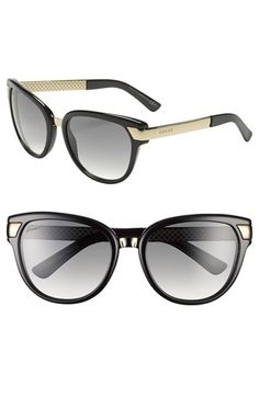 9140b1d67e Gucci 55mm Sunglasses available at  Nordstrom Gucci Fashion