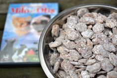Puppy chow for movie night