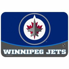 "NHL Winnipeg Jets 20 x 30-Inch Floor Mat by WinCraft. $19.99. This floor mat from WinCraft™ is designed for both indoor and outdoor use, and has a skid-resistant foam urethane back to help prevent slippage. The officially licensed floor mat is made of durable polyester material and has rounded corners trimmed with quality binding. The 20"" x 30"" floor mat is decorated in team colors and proudly displays heat-transfer NHL® team graphics in the center."