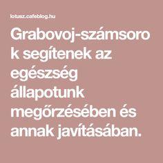 Grabovoj-számsorok segítenek az egészség állapotunk megőrzésében és annak javításában.