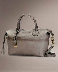Jenny Satchel - Bags & Accessories_Bags_Satchel - The Frye Company in grey