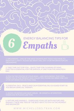 Empaths need to balance their energy to keep from shutting down. Read these tips on how.