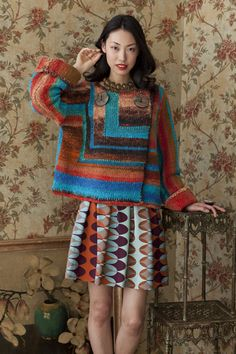 Noro Magazine!!! This is excellent! My favorite yarn! And this is my favorite design from the magazine!