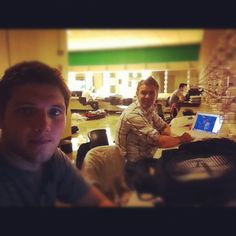 Ever wonder what a Celtic Thunder office would look like!!??  Photo by colm