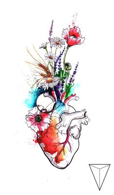 100 Painting, Art and Drawing Ideas - Malerei - Kunst Art Sketches, Art Drawings, Human Anatomy Art, Medical Wallpaper, Medical Art, Funny Medical, Heart Art, Watercolor Paintings, Illustration Art
