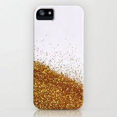 DIY glitter phone case.