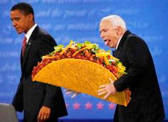 WFMU's Beware of the Blog recently held a photoshop contest involving the image of John McCain apparently trying to grope Obama. Description from vanillabomb.wordpress.com. I searched for this on bing.com/images