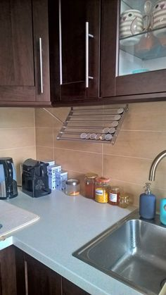 IKEA Kitchen Hacks are the perfect way to give your kitchen a customized feel on a budget! The ones I've included in this post range from simple organization hacks to stunning furniture makeovers, and I seriously love them all! Kitchen Storage Hacks, Diy Garage Storage, Kitchen Hacks, Diy Kitchen, Ikea Kitchen Organization, Kitchen Ideas, Kitchen Designs, Organization Ideas, Storage Ideas