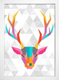 Poster Cervo - loja online